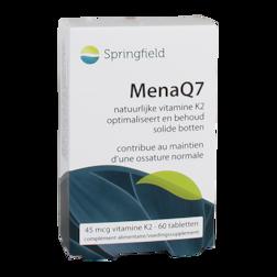 Springfield MenaQ7 Vitamine K2 (60 Capsules)
