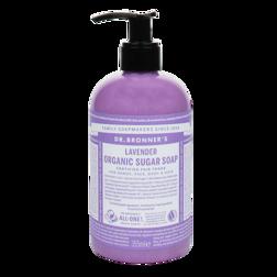 Dr Bronner's Biologische Suiker Zeep Lavendel 355ml
