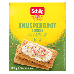 Schär Donkerbruin Knäckebrood Glutenvrij