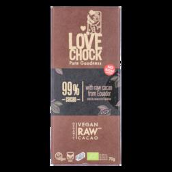 Lovechock Extreme Dark 99% Cacao (70gr)