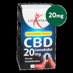 Lucovitaal CBD, 20mg (30 Capsules)