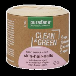Purasana Clean & Green Skin Hair Nails (60 Tabletten)