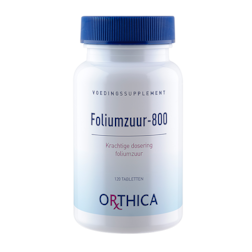 Orthica Foliumzuur 800 (120 Tabletten)
