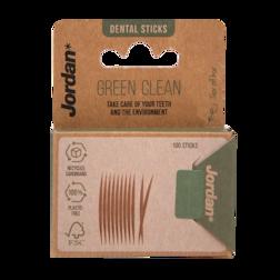 Jordan Green Clean Tandenstokers Dun (100 stuks)
