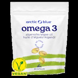 Arctic Blue Omega 3 Algenolie (60 Capsules)