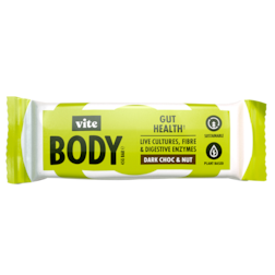 Vite Body Gut Health Dark Chocolate & Nut (45gr)