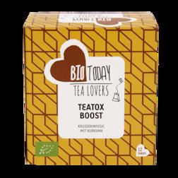 BioToday Teatox Boost Bio (12 Theezakjes)