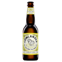 Lowlander 0.3% Organic Blond Ale (330ml)