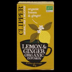 Clipper Lemon & Ginger Organic Infusion (20 Theezakjes)