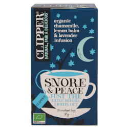 Clipper Snore & Peace (20 Theezakjes)