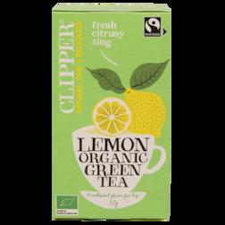 Clipper Lemon Organic Green Tea (20 Theezakjes)