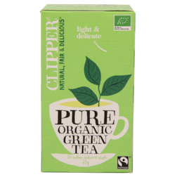 Clipper Pure Organic Green Tea (20 Theezakjes)