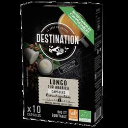 Destination Lungo Arabica Cups (10 Stuks)