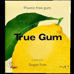 True Gum Lemon Kauwgom