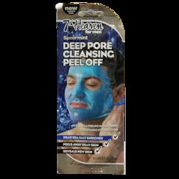 Montagne Jeunesse 7Th Heaven Men's Spearmint Deep Pore Cleansing Peel Off