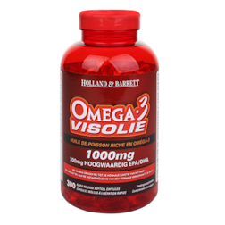 Holland & Barrett Omega 3 Visolie 1000mg 300 Capsules