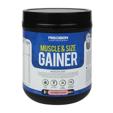 Muscle and size gainer precision