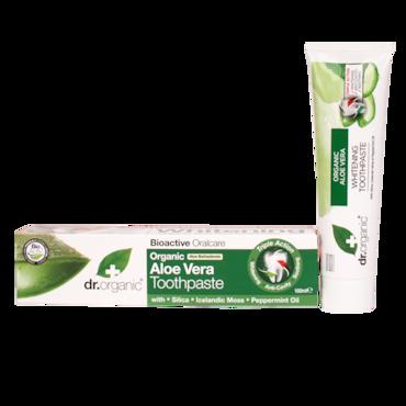 dr organic tandpasta