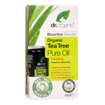 dr organic tea tree oil review
