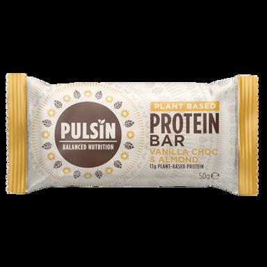 Pulsin Barre protéinée Choc Chip vanille 50 g