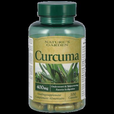 Nature's Garden Curcuma Capsules 400mg