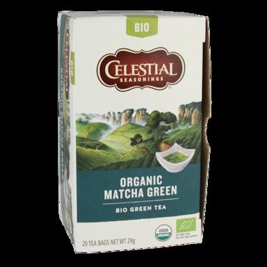 Celestial Seasonings Matcha Green Tea Bio (20 Theezakjes)