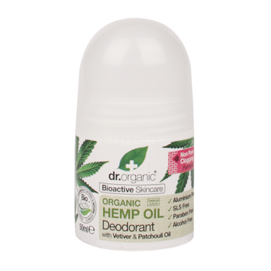 Dr. Organic Hemp Oil Deodorant