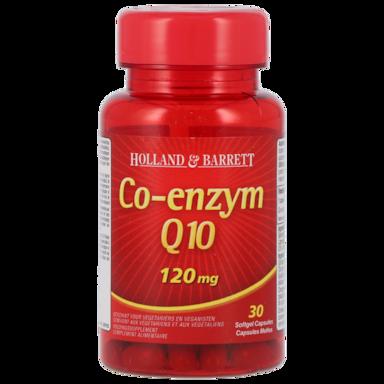 Holland & Barrett Co-Enzym Q10, 120mg (30 Capsules)