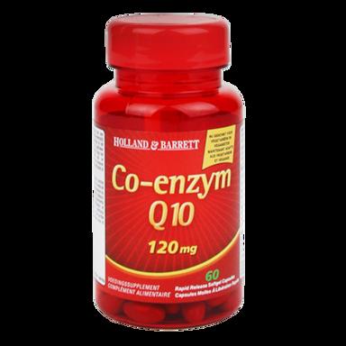 Holland & Barrett Co-Enzym Q10, 120mg (60 Capsules)