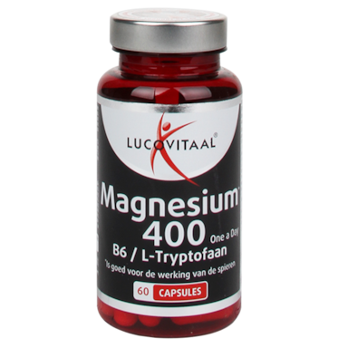 Lucovitaal Magnesium One A Day, 400mg (60 Capsules)