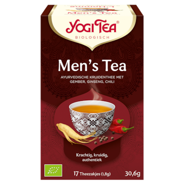 Yogi Tea Men's Tea Bio