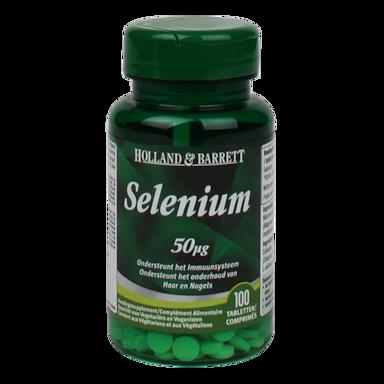Holland & Barrett Selenium, 50mcg (100 Tabletten)