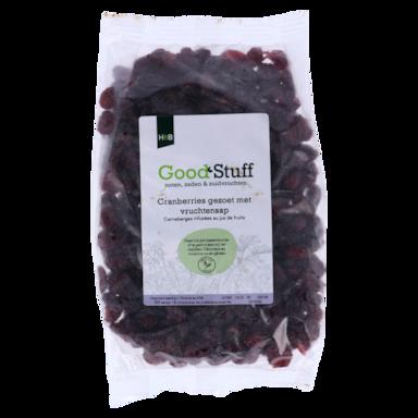 Holland & Barrett Cranberry's Met Vruchtensap Gezoet (400gr)