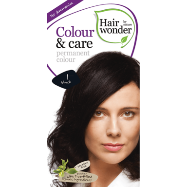 Hairwonder Colour & Care Noir 1