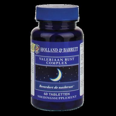 Holland & Barrett Valeriaan Rust Complex (60 Tabletten)