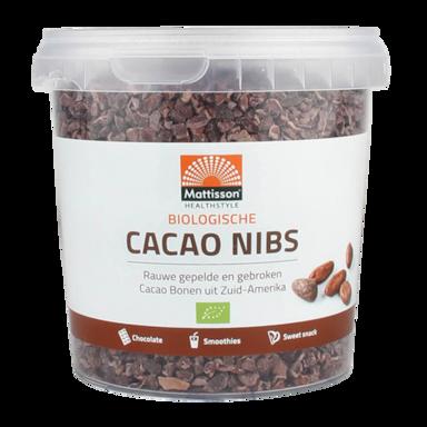 Mattisson Cacao Nibs Raw Bio (400gr)