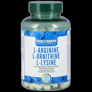 Precision Engineered Arginine & Ornithine & Lysine 120 Tabletten