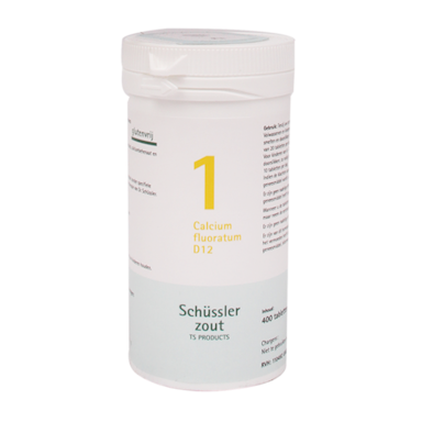 Schüssler Zout 1 Calcium Fluoratum D12 (400 Tabletten)
