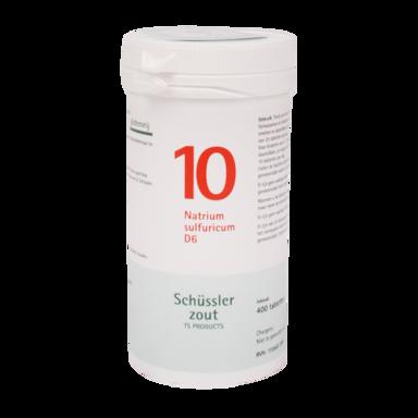 Schüssler Zout 10 Natrium Sulfuricum D6 (400 Tabletten)
