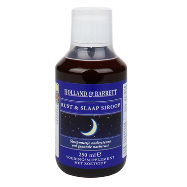 Holland & Barrett Rust En Slaap Siroop (250ml)