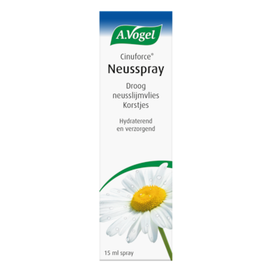 A.Vogel Cinuforce Neusspray Droog Neusslijmvlies Korstjes (15ml)