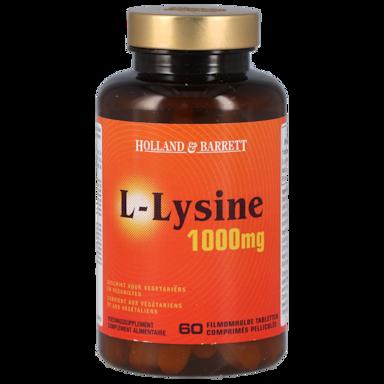 Holland & Barrett L-Lysine, 1000mg (60 Tabletten)