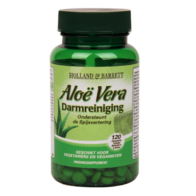Holland & Barrett Aloe Vera Darmreiniging (120 Tabletten)