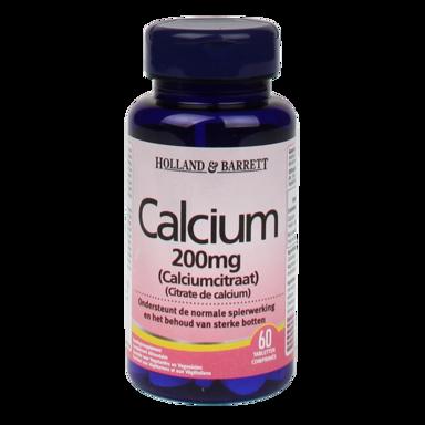 Holland & Barrett Citrate de calcium 200 mg