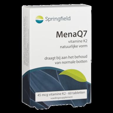 Springfield Menaq7 Vitamine K2, 45 mcg (60 Tabletten)