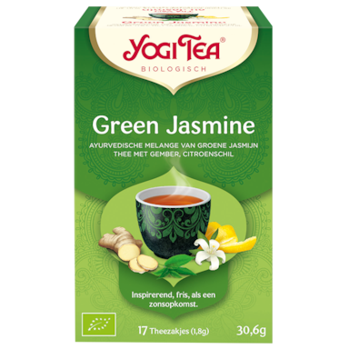 Yogi Tea Green Jasmine Bio (17 Theezakjes)