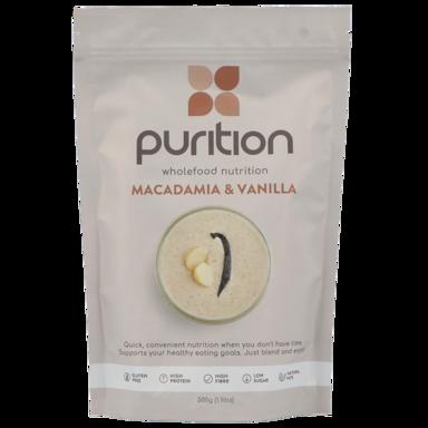 Purition Proteine Vanille Macadamia (500gr)