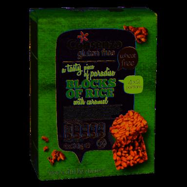 Rice Blocks Caramel