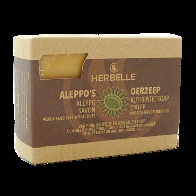 Herbelle Aleppo's Oerzeep 40% Laurierolie (200gr)