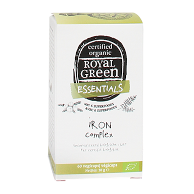 Royal Green Iron Complex Bio (60 Capsules)